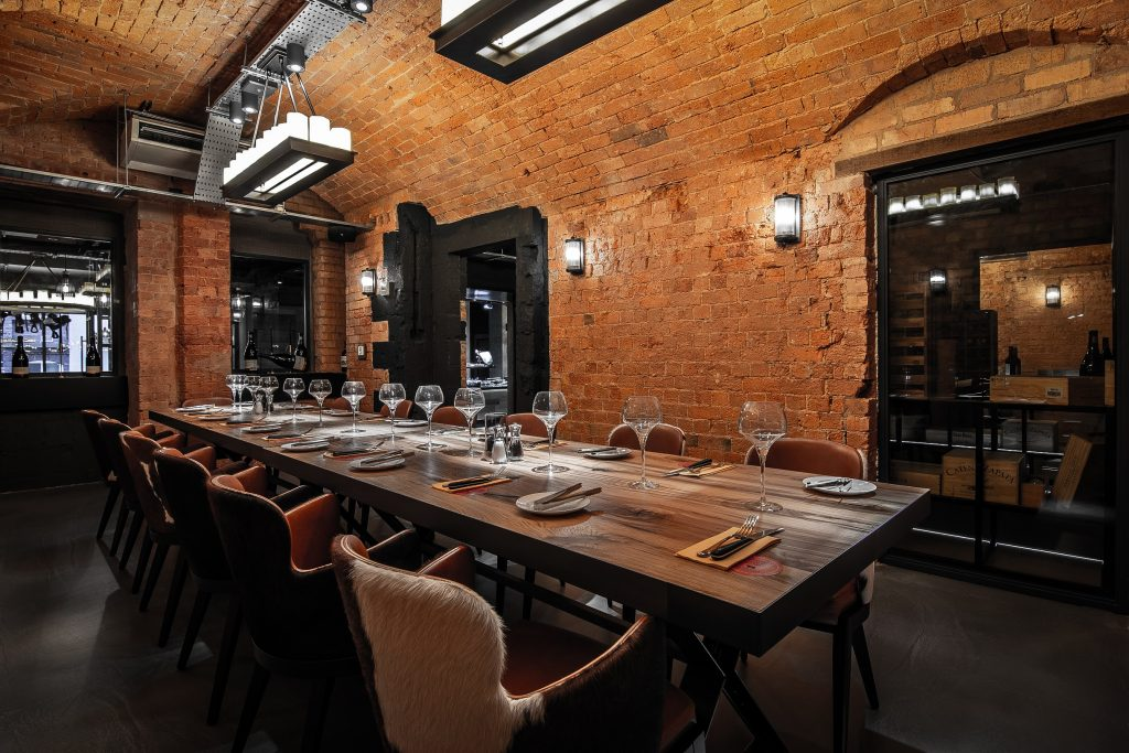 One of our new private dining rooms