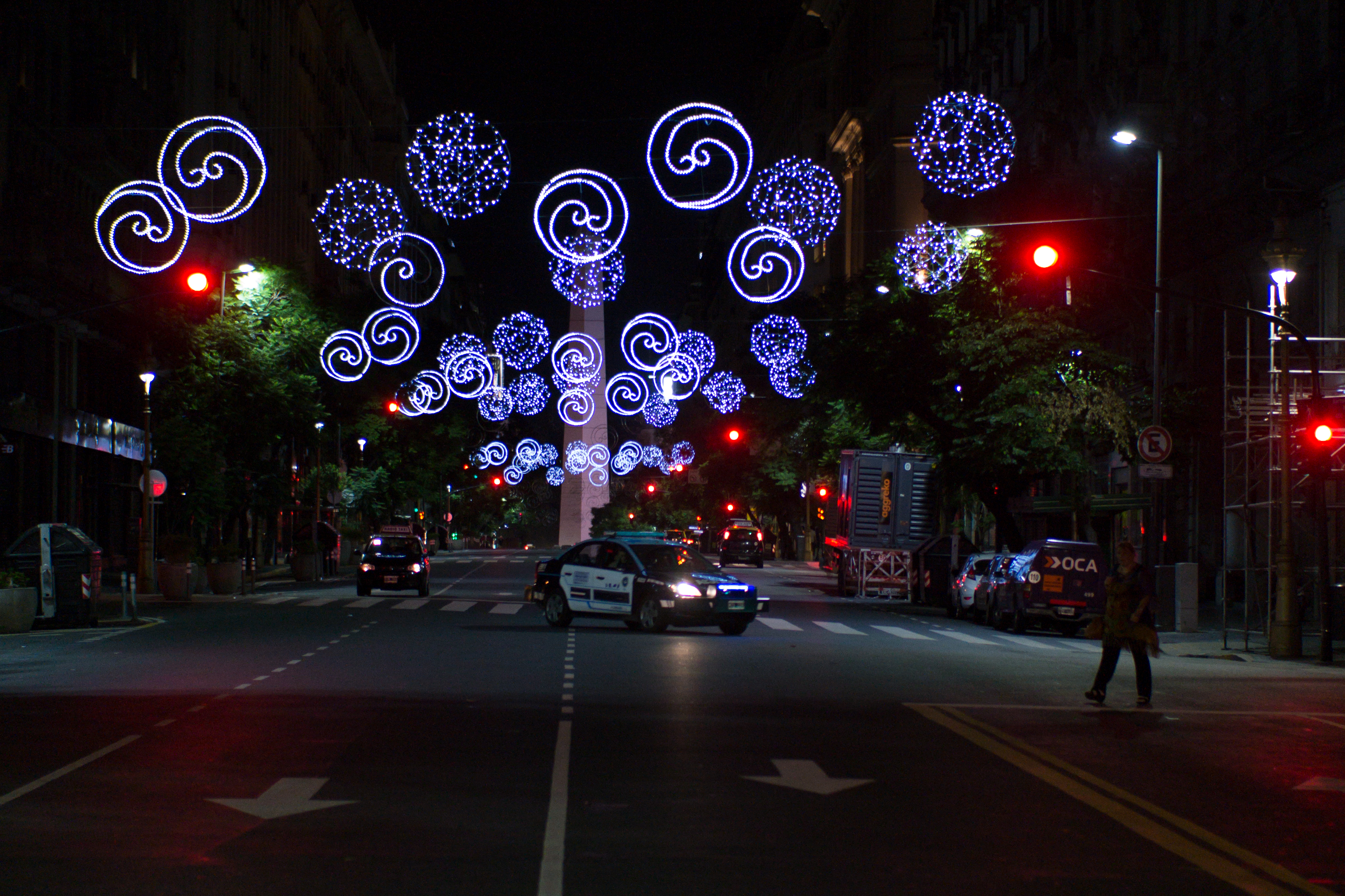 Lights in Buenos Aires