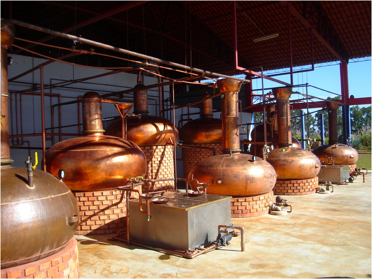 The Leblon Distillery (Image Credit - Cachacagora)
