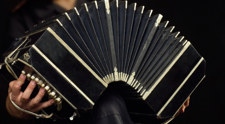 A traditional bandoneón (Image credit - City of London Sinfonia)
