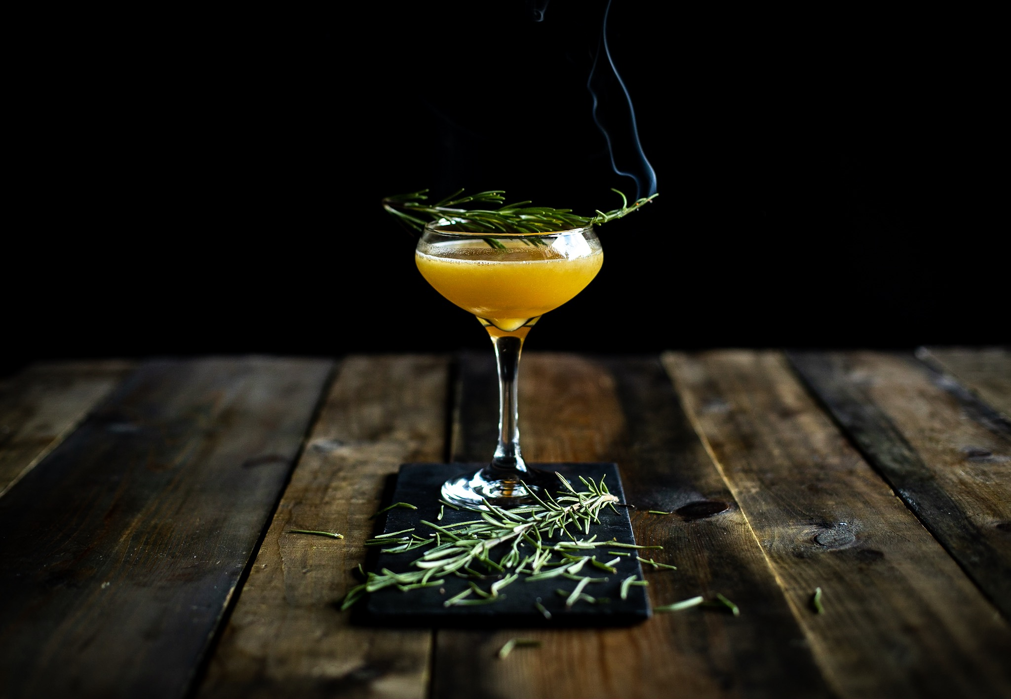 Our wonderful 'A Break In The Clouds' cocktail