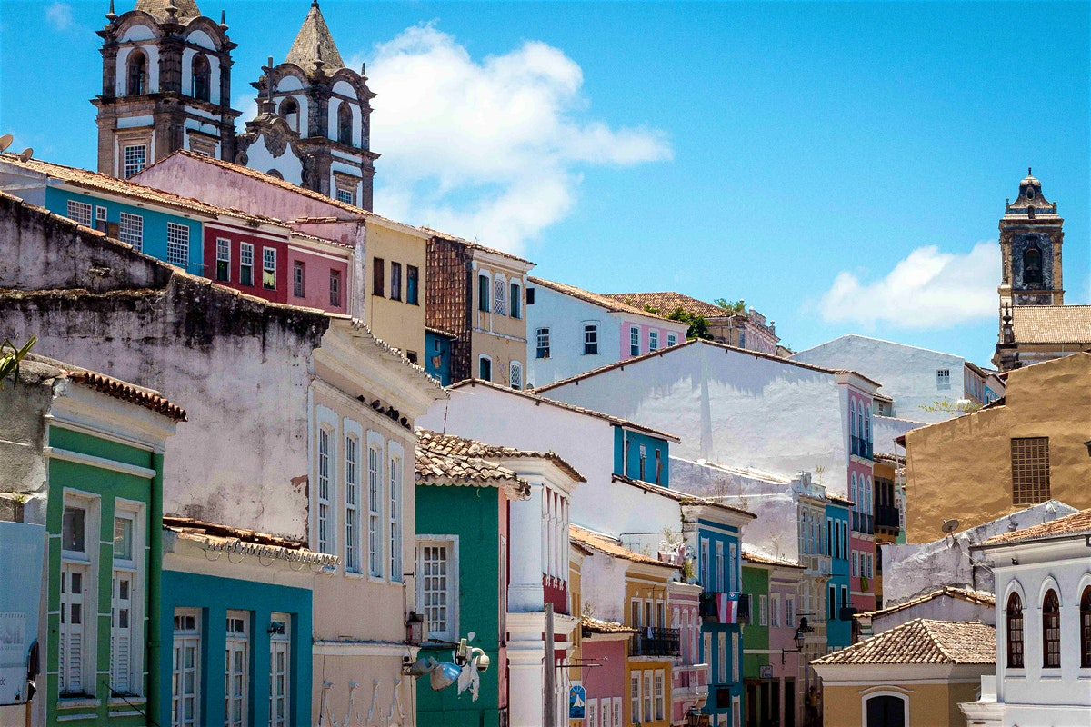 Colourful houses in the Upper Town (Image credit - Lonely Planet)