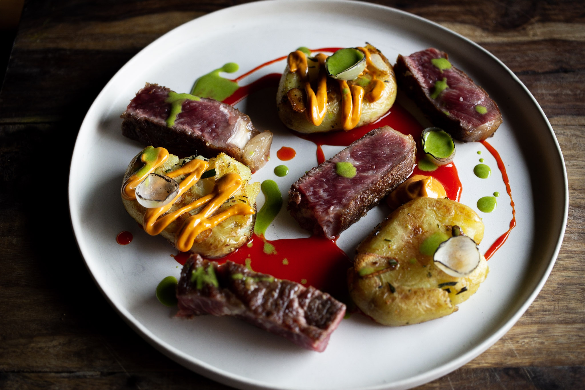Fran combined all of the above recipes with retired dairy cow beef to create this fantastic dish