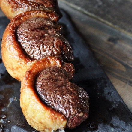 A Juicy Picanha cut